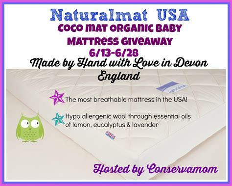 Mattress Giveaway 2014 - naturalmat organic baby mattress giveaway swanky point of view