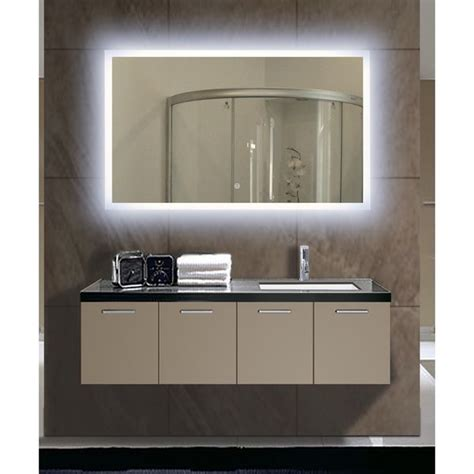 led mirror lights backlit bathroom cabinets mf cabinets