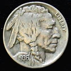 1936 indian head nickel by michael mitchell