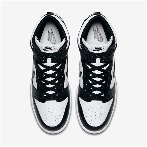 black and white nike dunk high black white 846813 002 release info sneakernews