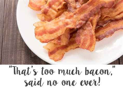 Bacon Strips And Bacon Strips Meme - bacon themed birthday party happiness is homemade
