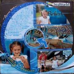 Project By Creative Imaginations by Creative Imaginations Sea World Collection 12x12 Paper