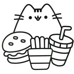 pusheen coloring pages 94 best pusheen coloring book images on