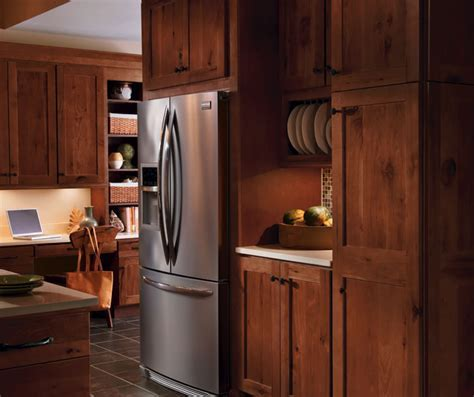Rustic Hickory Cabinets on Pinterest   Rustic Cherry
