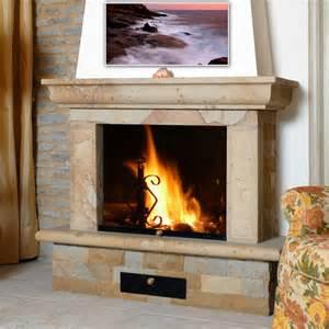 creation of fireplace facings