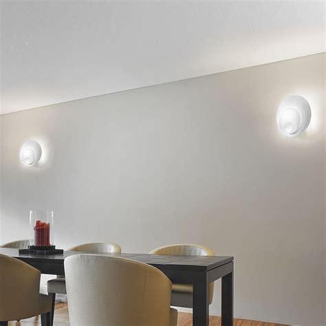 applique per soggiorno applique design moderno vetro bianco fuoriskema antea luce