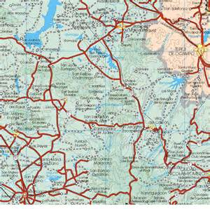 hidalgo map hidalgo mexico map 13 map of hidalgo mexico 13