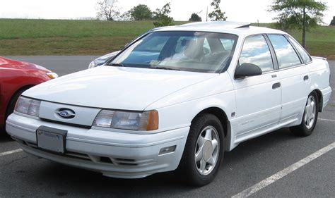 books on how cars work 1988 ford taurus security system file 1st ford taurus sho 10 03 2009 jpg wikimedia commons