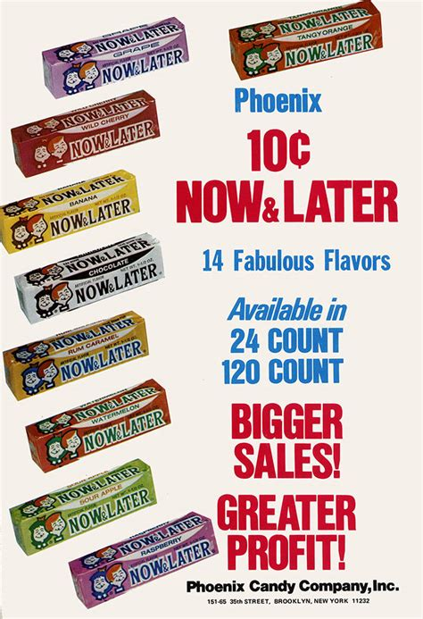 Wacky Wednesdays – Now & Never! | CollectingCandy.com Now And Later Candy Flavors