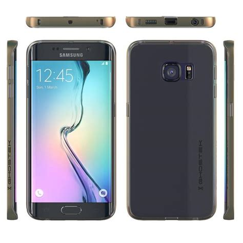 Galaxy S6 Premium Casing Cover Bumper Sarung Armor Murah galaxy s6 edge ghostek gold cloak series slim