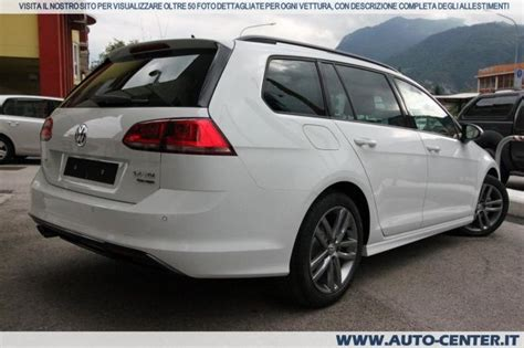 Auto Golf 4motion Km 0 by Volkswagen Golf Variant 7 2 0 Tdi 4motion 4x4 R Line