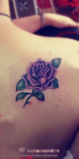 lavender rose tattoos designs purple design on the back venita s tattoos