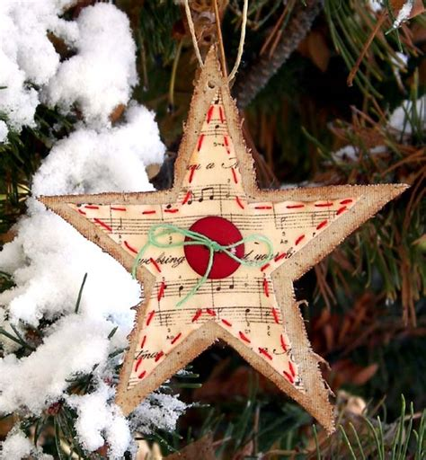 burlap christmas tree burlap ornaments garlands tree