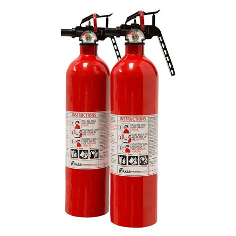 kidde 1 a 10 b c recreational extinguisher 2 pack