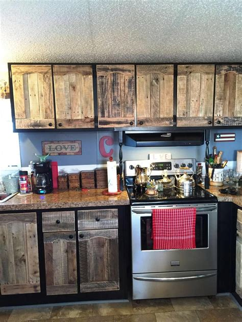 design your own pallet wood kitchen cabinets picture diy kitchen cabinet refacing ideas modern kitchen cabinets using old pallets 101 pallet ideas