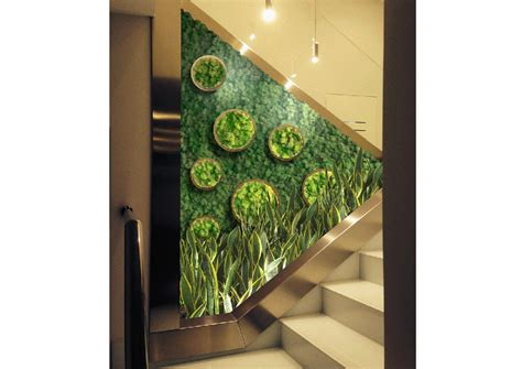 come arredare una scala interna decorare una scala con le piante foto 1 livingcorriere