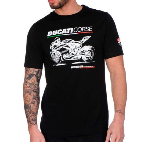 T Shirt Ducati Panigale official ducati corse merchandise shirts hats and more