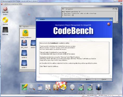 code bench epsilon s amiga blog amigaos4 1 classic on winuae part 3