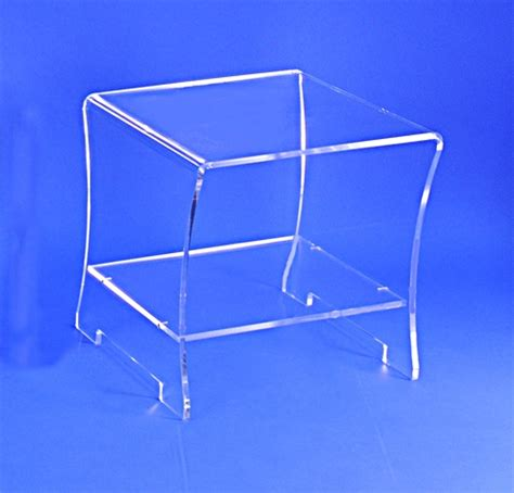 table de chevet plexi cristal