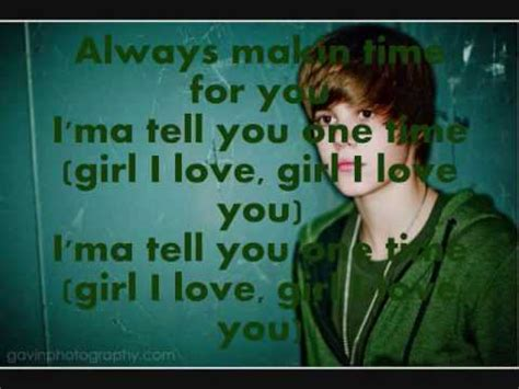 justin bieber one time lyrics download justin bieber one time my heart edition official with