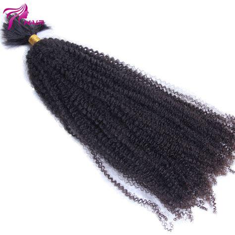 afro hair extension bulk hair 8 quot 26 quot human hair afro curly bulk