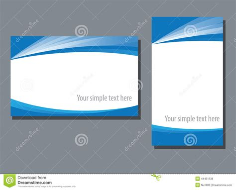 business name card template stock vector image 44451138