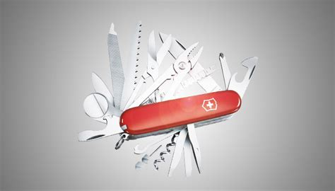 the swiss army knife of introducing the swiss army knife of security