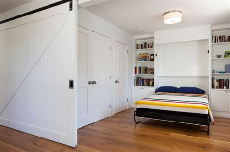 Sliding Bookcase Murphy Bed Murphy Bed Design Ideas Smart Solutions For Small Spaces