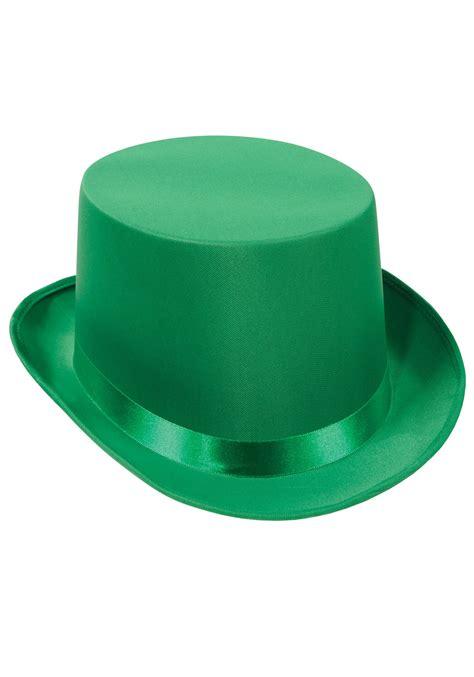 green hats green top hat felt top hats