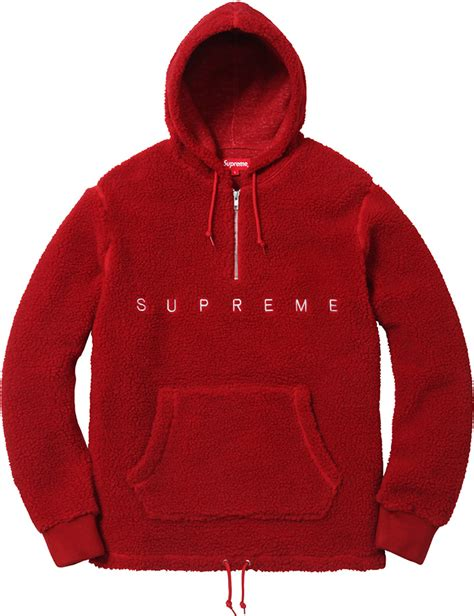 supreme womens clothing sherpa fleece pullover covu clothing
