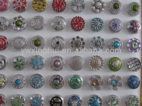 metal upholstery buttons factory wholesale metal button snaps for leather bracelet