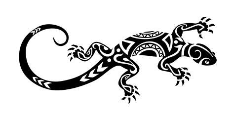lizard tribal tattoo ideas tattoos search lizards design