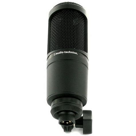 Audio Technica At2020 Cardioid Condenser Studio Microphone audio technica at2020 cardioid condenser microphone ebay