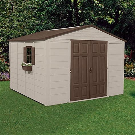 storage building shed  cubic feet  windows