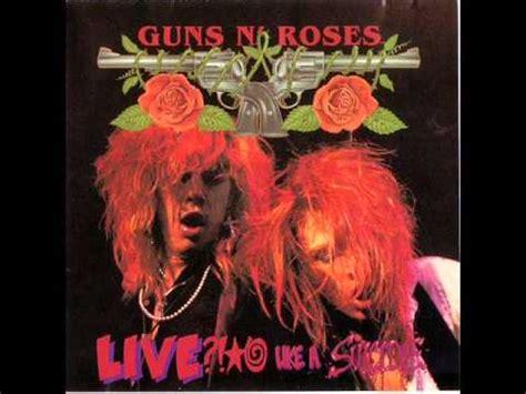 rose tattoo nice boys guns n roses live like a boys