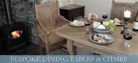 bespoke dining tables and chairs mclaughlin furniture bespoke tables handmade in cornwall
