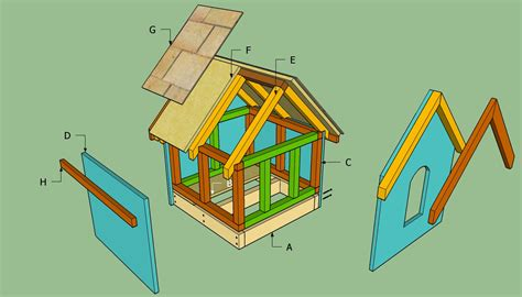 how to make a house how to build a small dog house howtospecialist how to build step by step diy plans