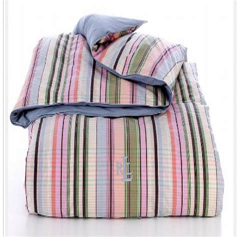 ralph lauren striped comforter ralph lauren martha s vineyard down alternative full queen