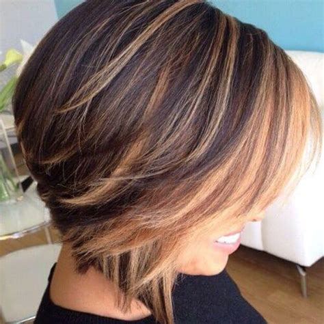 Short Brown Hair With Blonde Highlights | 55 charming brown hair with blonde highlights suggestions