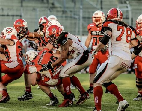 libro the south american football marburg mercenaries down stuttgart scorpions 31 7 in gfl south