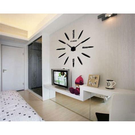 Jam Dinding Diy jam dinding besar diy 80 130cm diameter elet00661