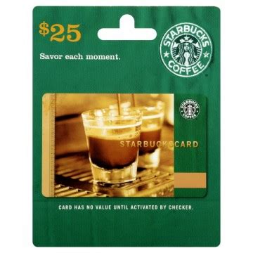 Online Starbucks Gift Card - 25 starbucks gift card