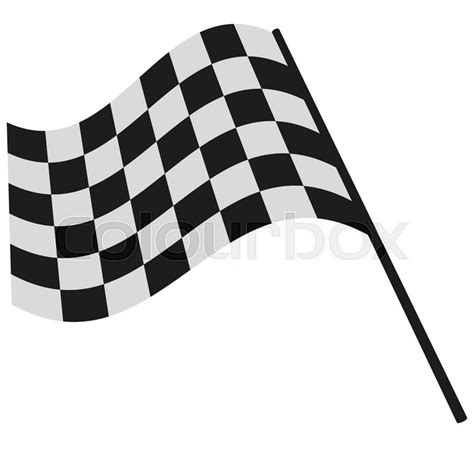 Topi Trucker Flag Racing Hitam Putih checkered flag racing stock vector illustration clip stock vector colourbox