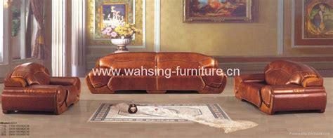 Wood And Leather Living Room Furniture Antique Royal Solid Wood Furniture Leather Sofa Set Living Room Furniture 807 820 Shengtaoge