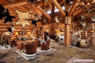 Log Home Decor Cabin Home Decor Decorating Ideas