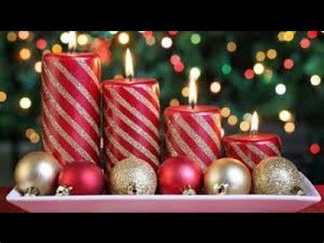 como decorar velas de navidad decora tus velas de navidad 60 ideas youtube