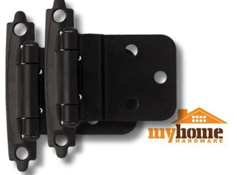 Hinges For Cabinets Doors Cabinet Door Inset Hinges Matte Black 1 Pair Hinge Ebay