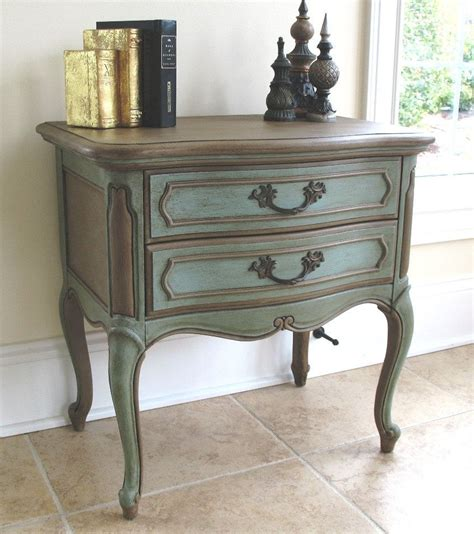 Provincial Nightstand Dresser Set In Driftwood Antique Walnut General Finishes Provincial Painted Waxed Furniture Side Table Or Nightstand Sloan
