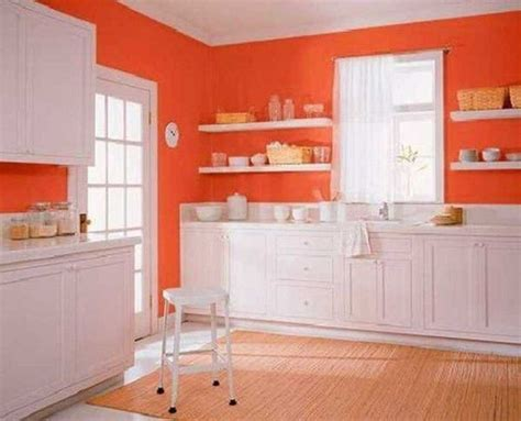 1000 ideas about orange kitchen walls on