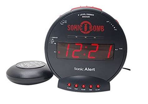 this alarm clock makes mornings easier for hearing impaired seniors dailycaring